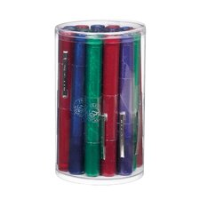 Disposable Pearlescent Gem Penlight with Assorted Cylinder