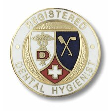 Registered Dental Hygienist Emblem Pin
