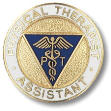 Physical Therapist Assistant Emblem Pin