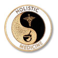 Holistic Medicine Emblem Pin