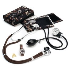 <strong>Prestige Medical</strong> Aneroid Sphygmomanometer Sprague-Rappaport Stethoscope Kit with Watch and Badge Tac