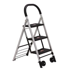 Xtend and Climb 3-Step Step Stool / Hand Cart