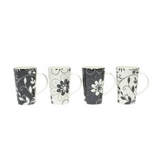 <strong>Maxwell & Williams</strong> Daisy May 15.5 oz. Mug (Set of 4)