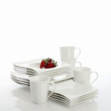White Basics Motion Dinnerware Set
