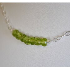 Peridot Swing Necklace