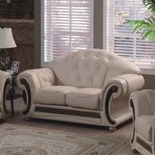 Medusa Leather 2 Seater Sofa