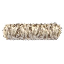 Tibetan Fox Faux Fur Neckroll Pillow
