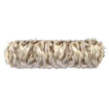 Tibetan Fox Faux Fur Neckroll Pillow