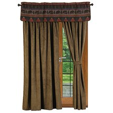 Cabin Bear Window Treatment Collection
