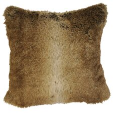 <strong>Wooded River</strong> Chinchilla Faux Fur Euro Sham
