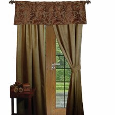 Nutmeg Leaf Rod Pocket Drape Single Panel