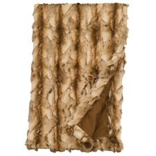 Brandy Fox Fur Throw