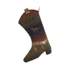 Mustang Canyon Christmas Boot Stocking