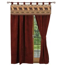 <strong>Wooded River</strong> Kodiak Creek Tab Top Drape Panel (Set of 2)
