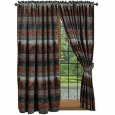 Deer Meadow Rod Pocket Drape Panel (Set of 2)