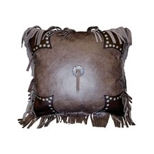 Accessory Pillows Leather and Decorative Studs Pillow