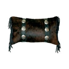 Accessory Pillows Leather and Conchos Pillow