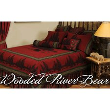 <strong>Wooded River</strong> Wooded River Bear Bedspread Collection
