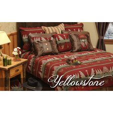 <strong>Wooded River</strong> Yellowstone 7 Piece Bedding Set