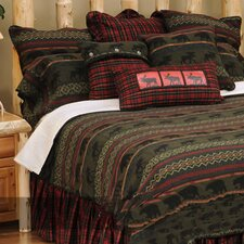 <strong>Wooded River</strong> McWoods I 4 Piece Bedding Set