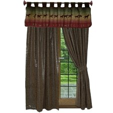 <strong>Wooded River</strong> Nutmeg Leaf Window Treatment Collection