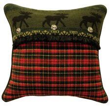 McWoods I Plaid Pillow