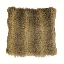 Bandera Raccoon Faux Fur Pillow