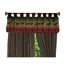 Mustang Canyon Curtain Valance