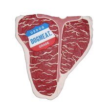 T-Bone Steak Dog Chew Toy