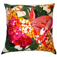 Flower Power Lantana Silk Pillow