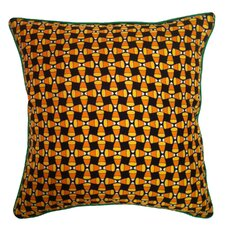 <strong>Filos Design</strong> Holiday Elegance Candy Corn Silk Pillow