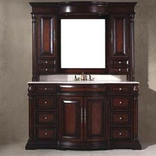 "Egwene 60"" Bathroom Vanity with Sink and Mirror"