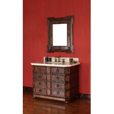 "<strong>James Martin Furniture</strong> Regent 42"" Single Vanity Set with Stone Top"