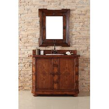 "Charleston 42"" Single Vanity Set with Wood Top"