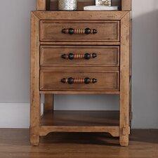 "Malibu 24.7"" x 33"" Freestanding Linen Cabinet"