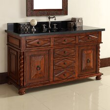 "Continental 60"" Single Vanity Base"