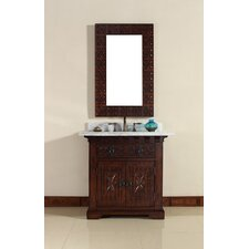 "Monterey 36"" Single Vanity Set with Stone Top"