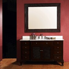 "<strong>James Martin Furniture</strong> Toscano 53"" Single Marble Vanity Set"