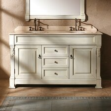 "Brookfield 60"" Double Vanity Base"