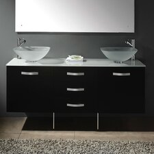 "Contempo 63"" Double Vanity Set"