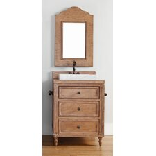 "Copper Cove 26"" Single Vanity Set with Wood Top"