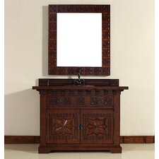 "Monterey 48"" Single Vanity Set with Wood Top"