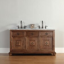 "Mykonos 60"" Single Vanity Set with Stone Top"