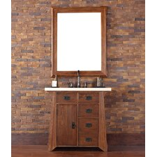 "Pasadena 36"" Single Vanity Set with Stone Top"
