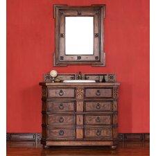 """Regent 42"""" Single Vanity Set with Wood Top"""