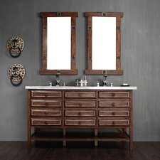 "Tacoma 60"" Double Vanity Set with Stone Top"