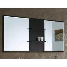 "Kasha 31.5"" x 67"" Bathroom Mirror with Shelves"