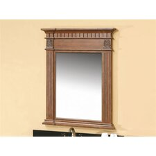 "Gayle 42.75"" x 33.25"" Bathroom Mirror"