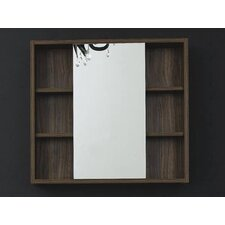 "Juneau 26.5"" x 28.7"" Bathroom Mirror"