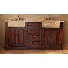 "72"" Double Bathroom Vanity Set"